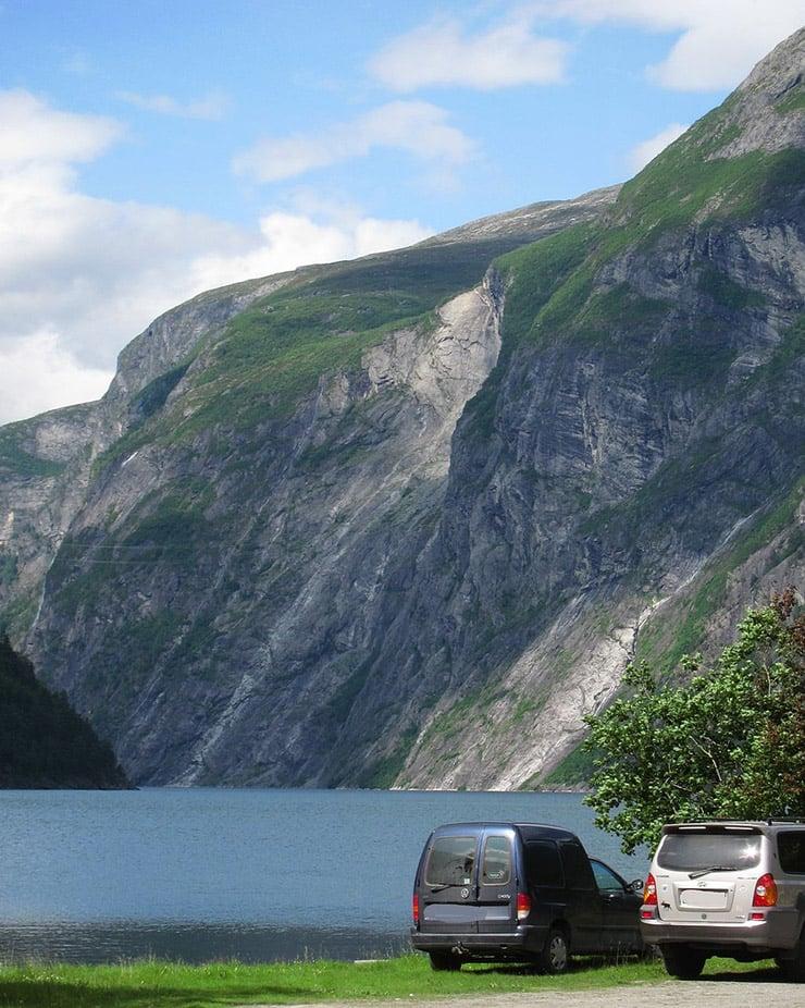 The Tafjord landslide scar