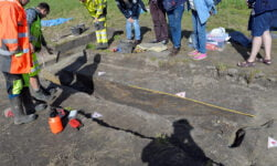 Viking Ship Archaeological Dig in Norway