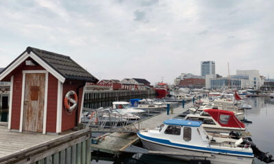 The waterfront of Bodø, Norway