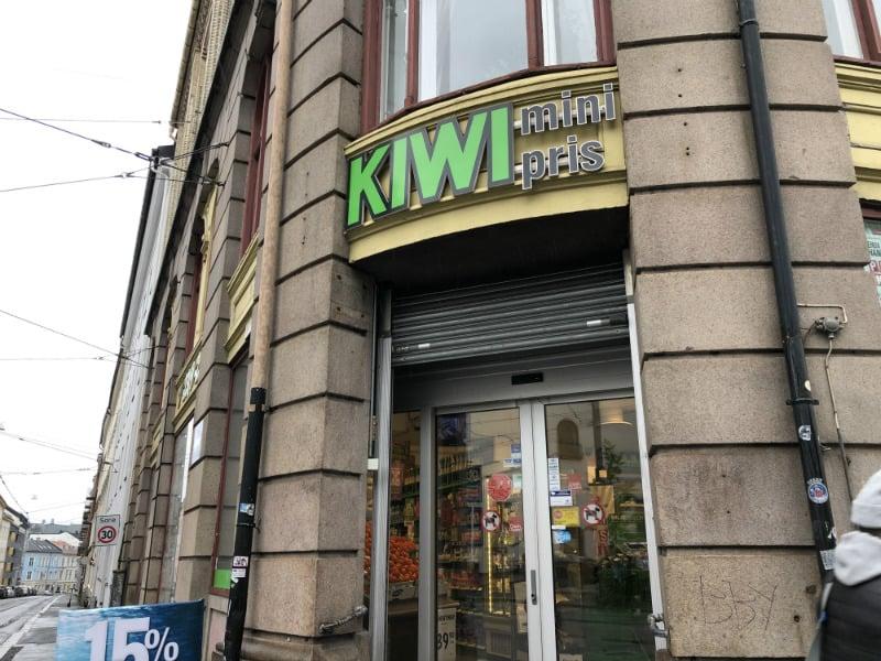 Kiwi store front