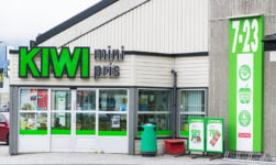 Kiwi supermarket in Norway