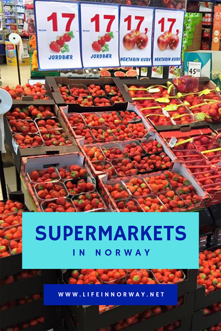 Supermarkets in Norway: Norwegian Grocery store tips for your weekly shop.