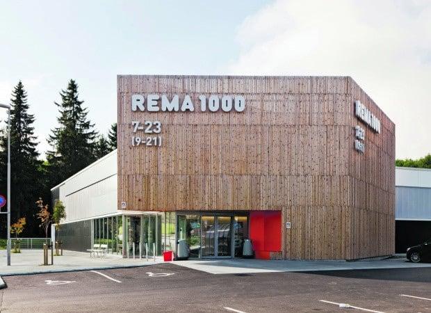 Rema 1000 supermarket in Norway