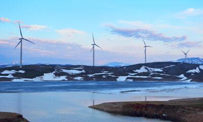 Wind turbines in Norway