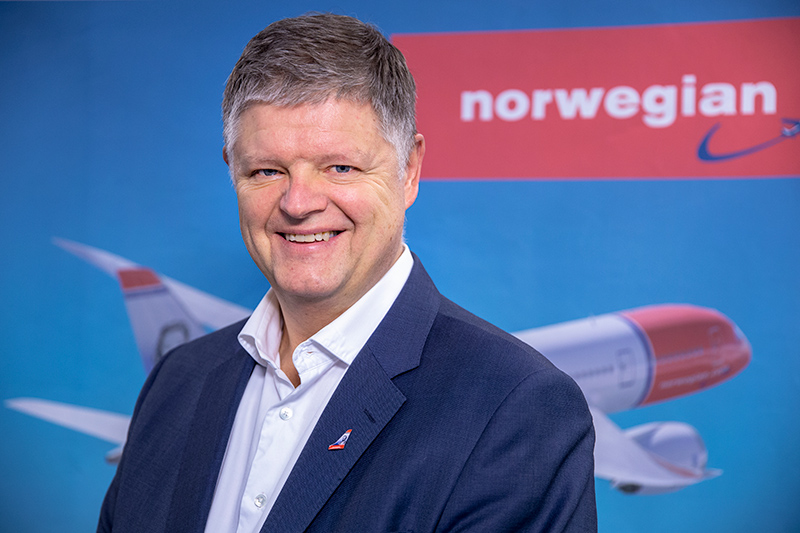 Jacob Schram Norwegian Air