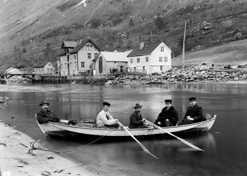 Archive photography from Stryn on the Nordfjord