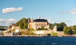 Historic Akershus Castle in Oslo, Norway