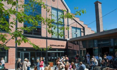 The Mathallen food hall in Oslo, Norway