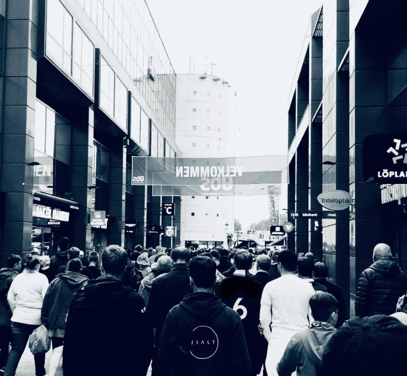 crowd scene Ullevaal