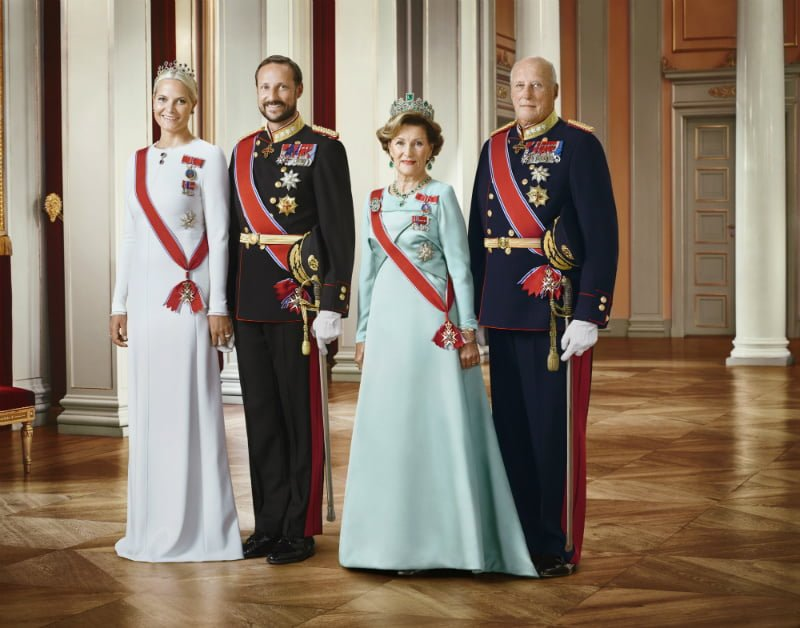 Norway Royal Family – King, queen, prince and princess