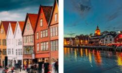 Bergen and Stavanger in Norway