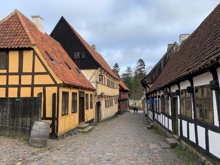 Inside Aarhus Old Town museum