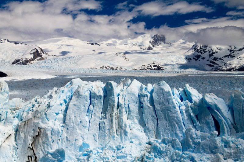 Ancient glacier in Scandinavia