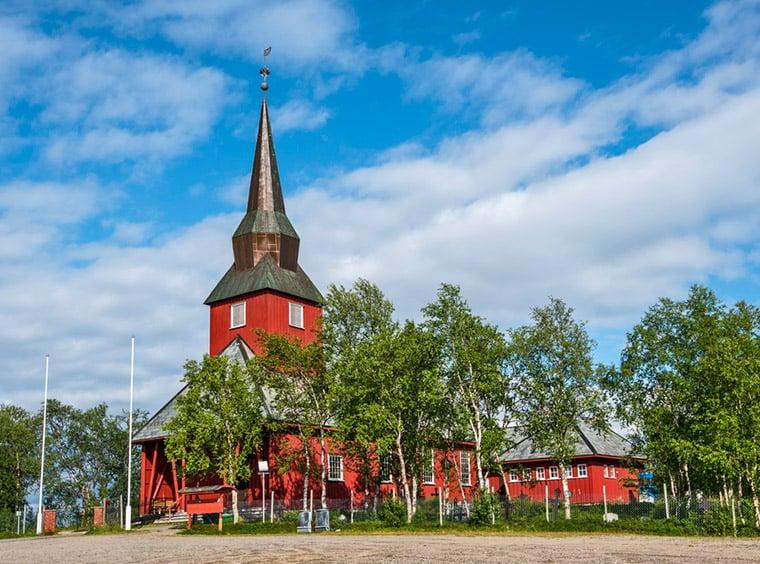 Kautokeino Church, Norway