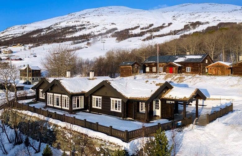 Mountain cabin in Vangslia, Norway