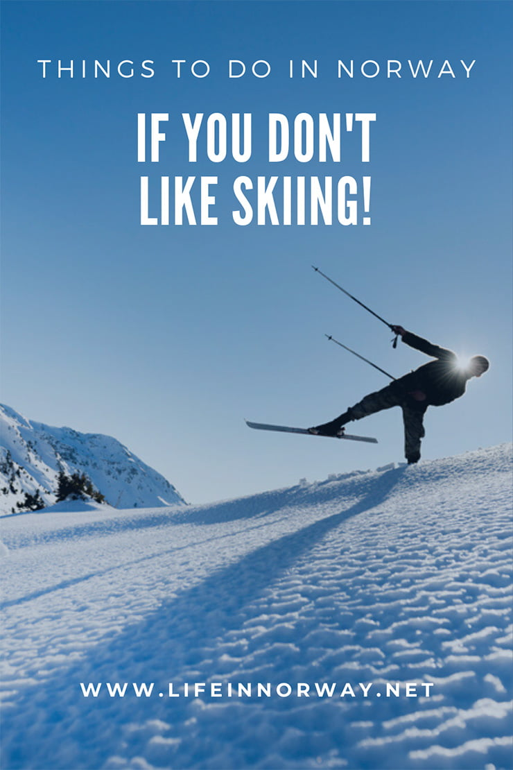 A bad Norwegian skier