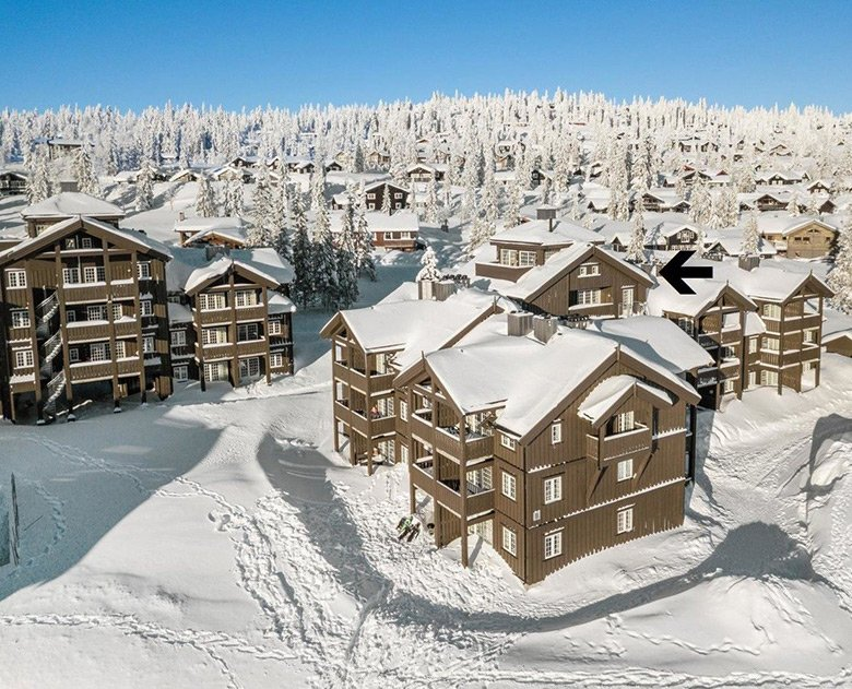 Top storey apartment in Trysil, Norway