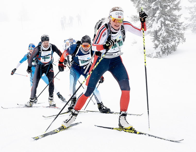 Birken Ski Festival participants in 2019