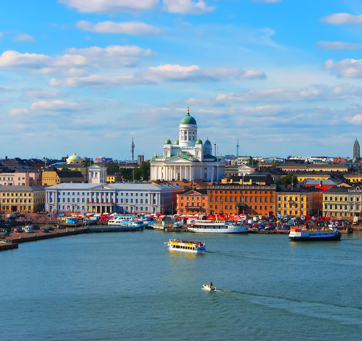 Helsinki, the capital city of Finland
