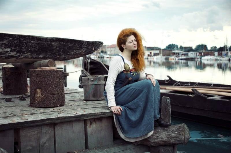 robe femme viking