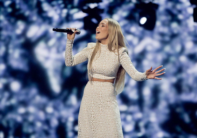 The Norwegian singer, Agnete