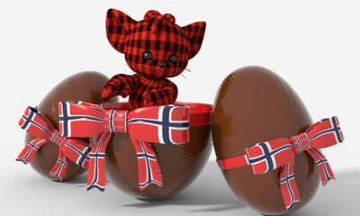 Easter chocolate from Norway