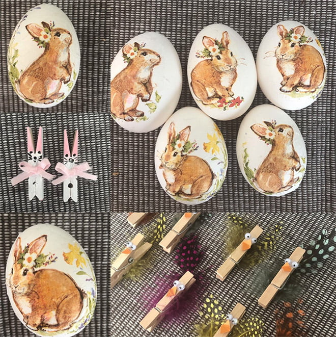 Typical Norwegian Easter crafts