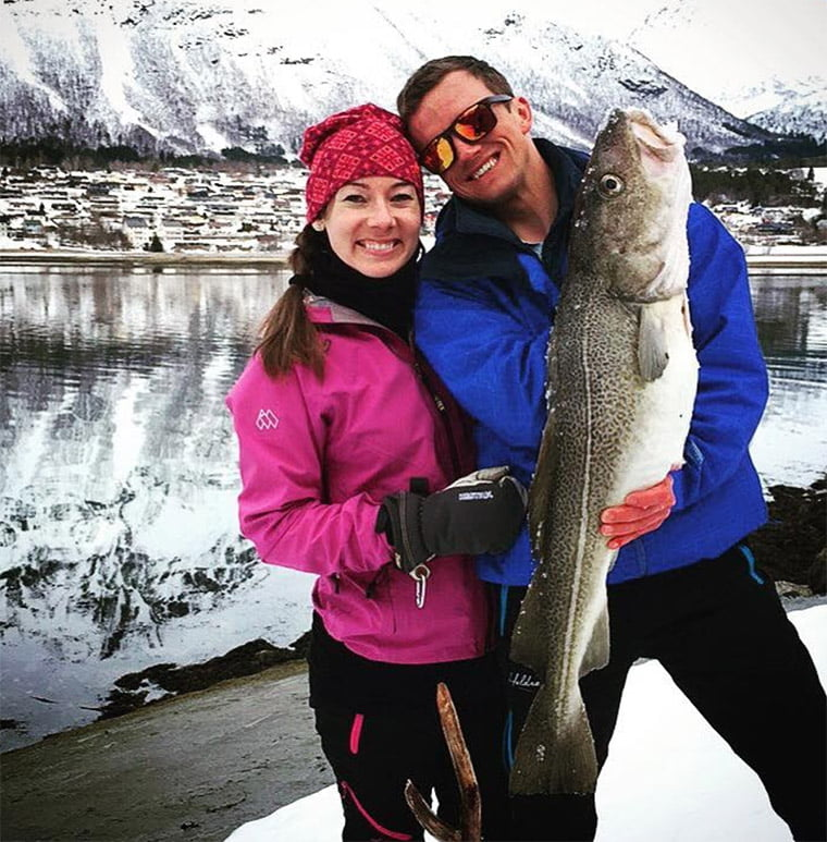 Giant catch from a fjord fishing trip in Norway