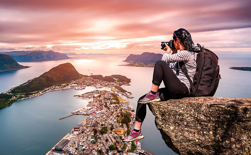 Norway travel photographer in Aalesund