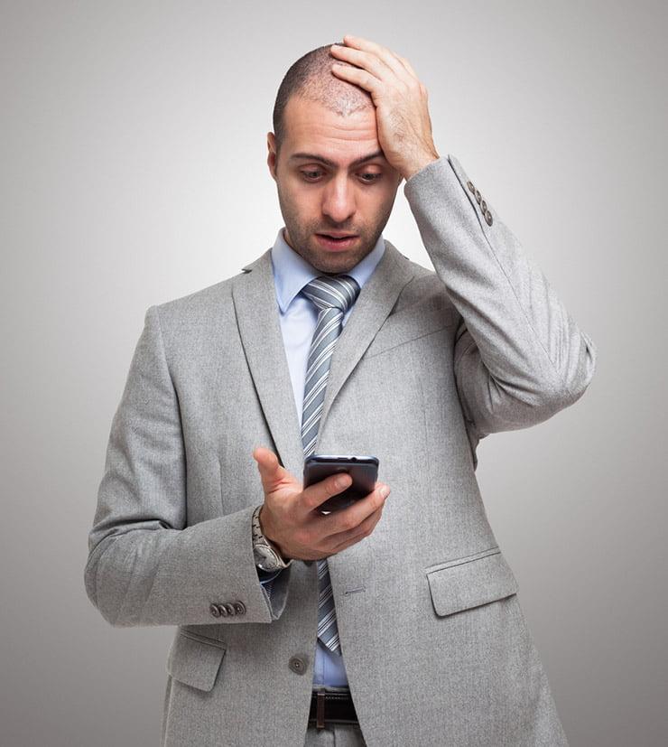 A Norwegian smartphone app user