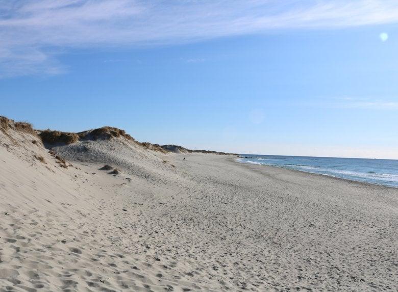 Orrestranda beach near Stavanger in Norway