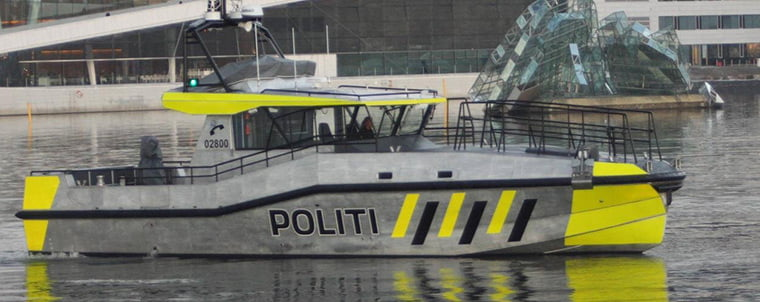 Oslo Police District boat