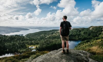 Viewpoint from a hike in Oslo, Norway