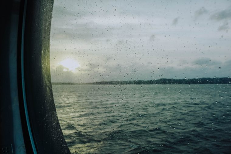 View from the Stavanger to Bergen ferry