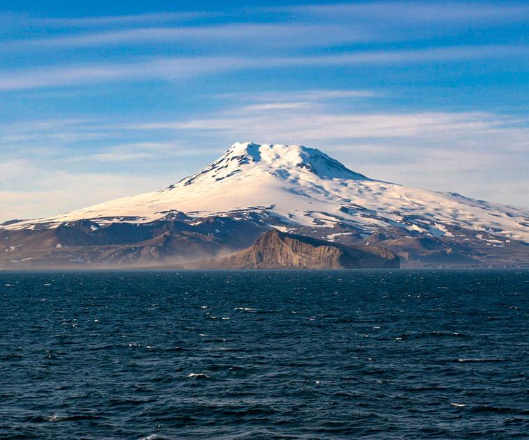 Jan Mayen island off the coast of Norway