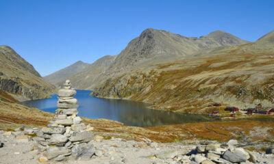 Hiking in Rondane National Park in central Norway