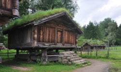 Telemark farm in Norway