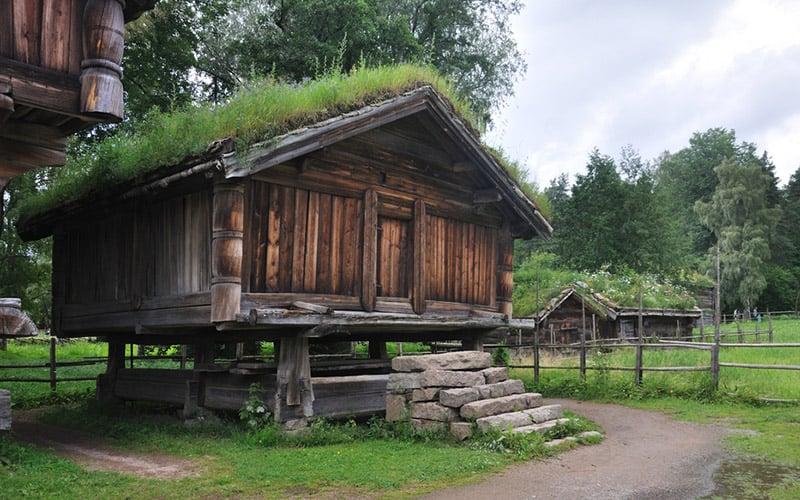 Telemark farm in Norway