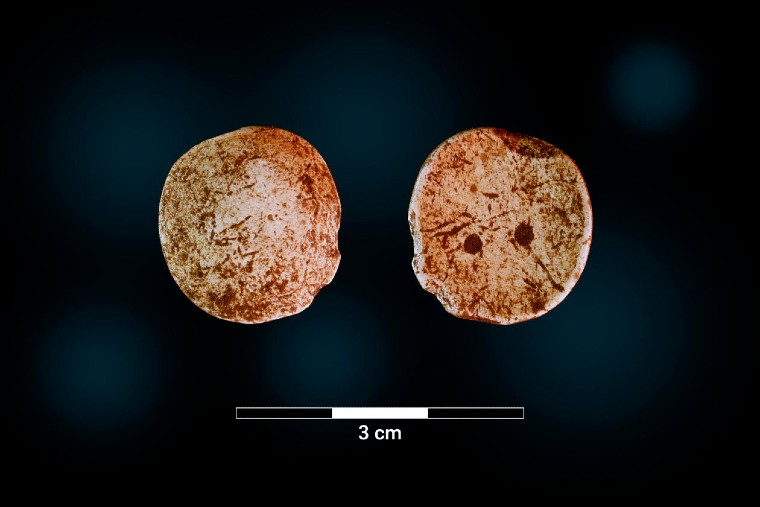 Two iron age game pieces discovered in Norway