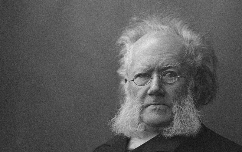 The Norwegian playwright Henrik Ibsen wrote A Doll's House