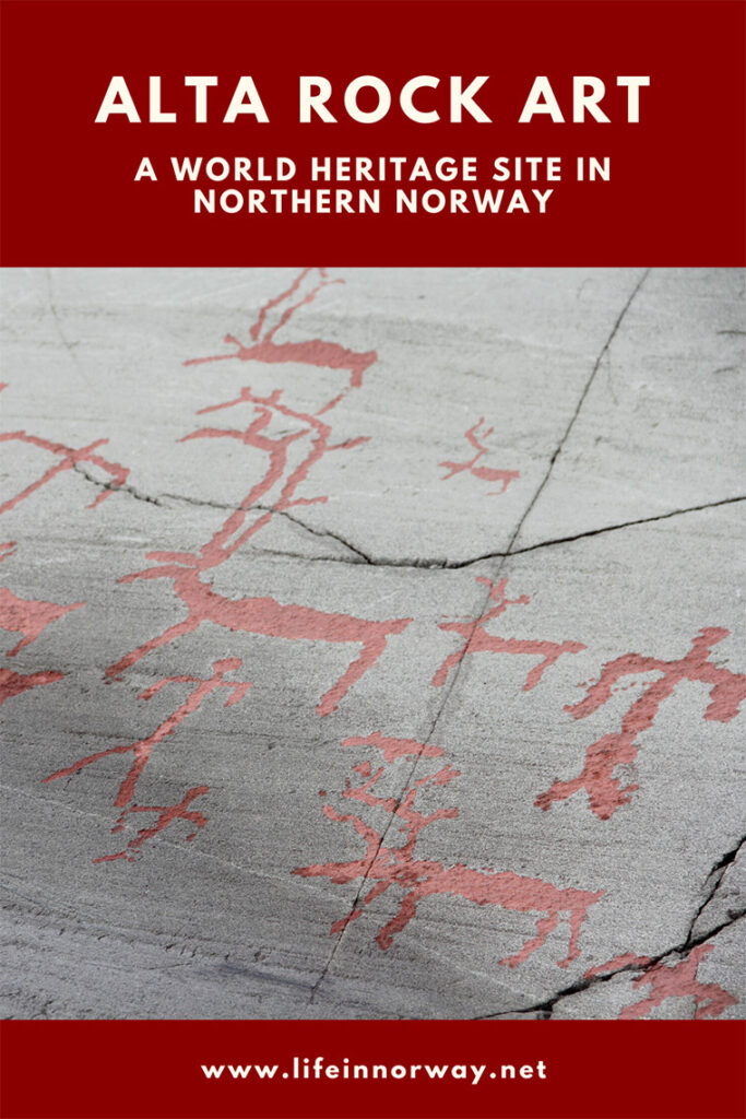 Alta Rock Art Centre in northern Norway