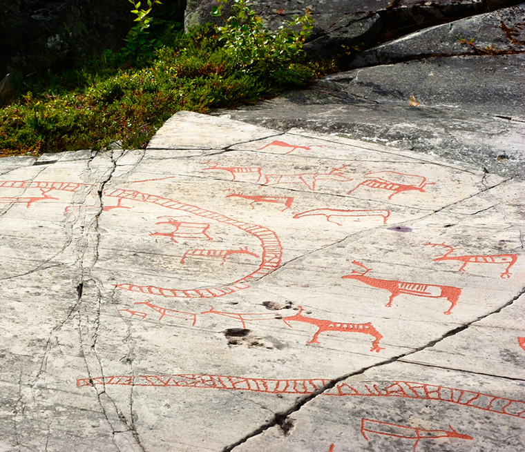 Rock Art Centre in Alta, Norway