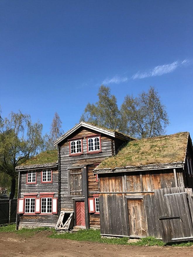 Outdoor museum at Sverresborg, Trondheim