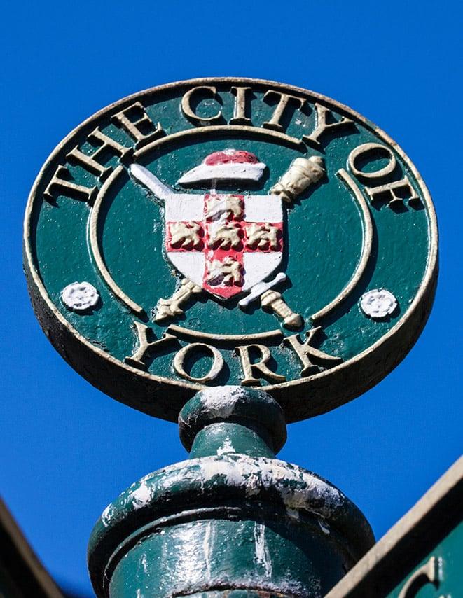 Viking city of York, England