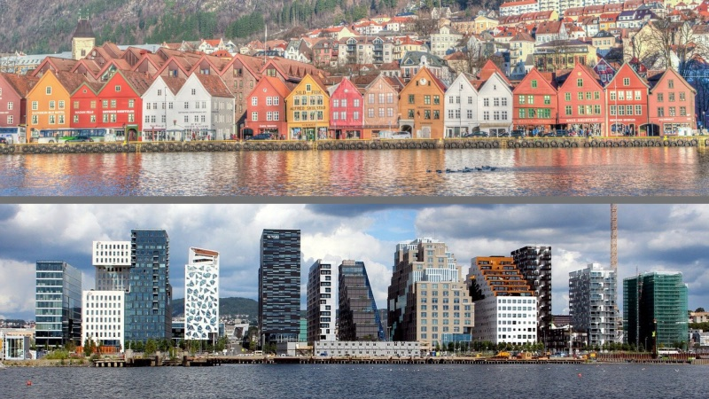 Old and New Architecture in Norway