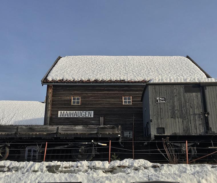 The Maihaugen open-air museum in Lillehammer, Norway