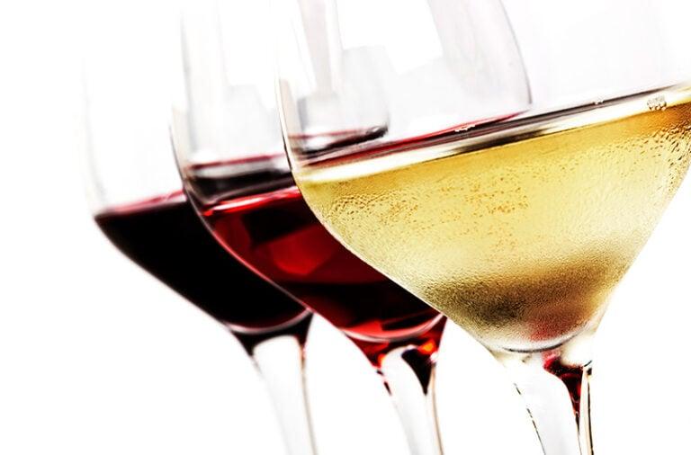 Norwegian wine glasses