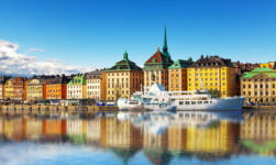 Scandinavian waterfront