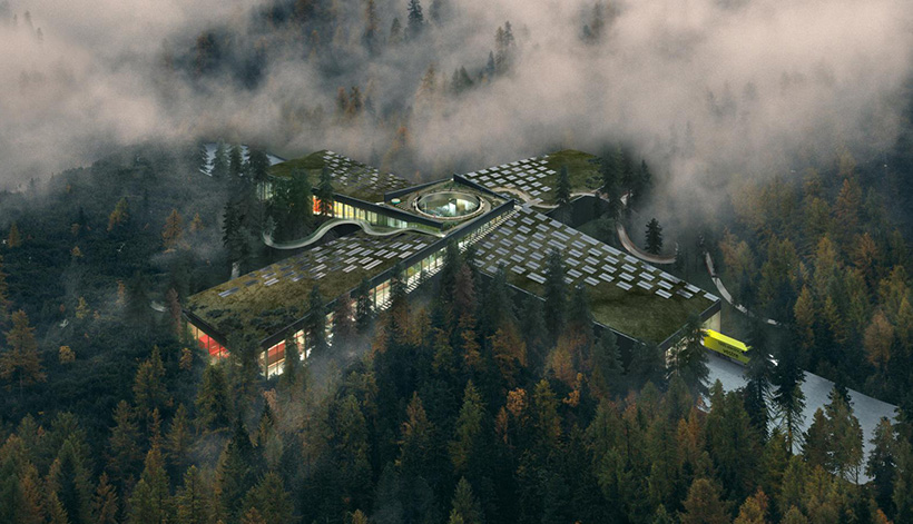 The Plus forest factory in Norway