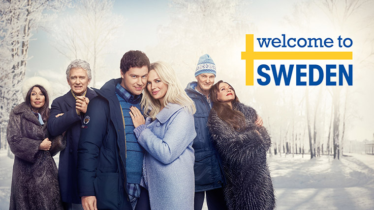 Welcome to Sweden banner